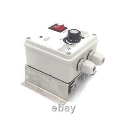 10A / 2000W Extractor Fan Speed Controller / Ventilators Blowers Regulator