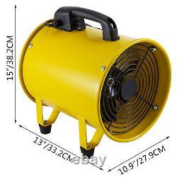 10 250mm Portable Ventilation Fan 320W Extractor Fan 1900/2800r/min Speed