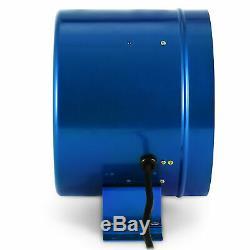 10 Inline Duct Fan withSpeed Controller Exhaust Blower Extractor Fume Ventilation