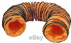 110v 10 250mm Cyclone Dust Fume Extractor / Ventilation Fan + 10m Pvc Ducting
