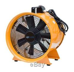 110v Dust Fume Extractor/ventilation Fan 10 (250mm)