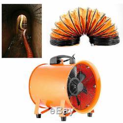 12 300MM Dust Fume Extractor / Ventilation Fan + 5M PVC Ducting
