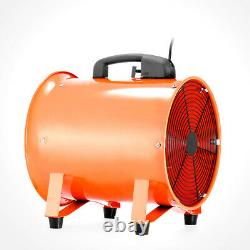 12 300 mm Portable Axis Ventilator Air Blower Extractor Fan Ventilator+5m Duct