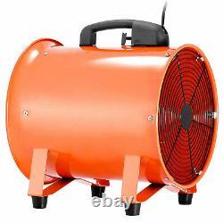 12 300mm Industrial Fan Duct Fume Extractor Ventilation Fan + 5m PVC Ducting