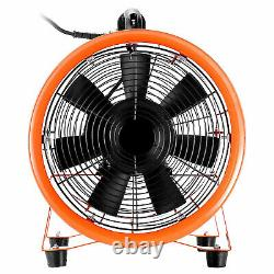 12 300mm Portable Extractor Ventilation Blower Fan and 5m PVC Flexible Ducting