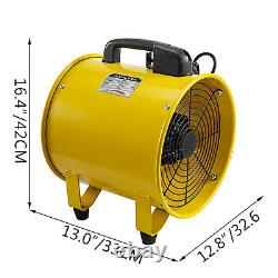 12 300mm Portable Ventilation Extractor Fan with 10m PVC Ducting 1900/2800r/min
