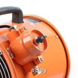 12 ATEX Portable Ventilator Axial Fan Ducting Blower Spray booth Extractor 220V