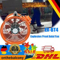 12 Atex Portable Ventilator Axial Fan Ducting Blower Extractor Industrial Fume