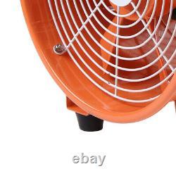 12 Atex Portable Ventilator Axial Fan Ducting Blower Metal Extractor Industrial