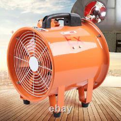 12 Explosion Proof (Ex) Metal Axial Extractor Ventilation Shutter Fan Spray UK