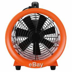 12 Extractor Fan Blower Ventilator+5M Duct Hose Pivoting With Handle Heavy Duty