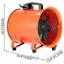 12 Industrial Fan Ventilator Extractor Blower Low Noise High Rotation Fume