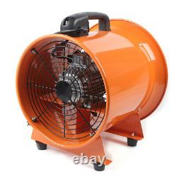 12 Industrial Portable Axis Ventilator Air Blower Extractor Fan with 5m Duct