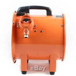 12 Portable Ventilator Axial Fan Ducting Blower Metal Extractor Ex Exhaust Fan