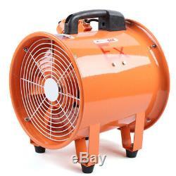 12 Portable Ventilator EX Axial Fan Ducting Blower Metal Extractor Fan 4500m³/h