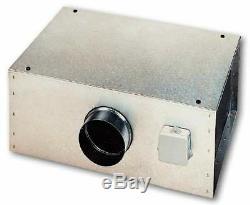 150mm Silent In Line Twin Ventilation Fan Commercial Grow ...