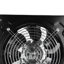 16'' Heavy Duty Axial Industrial Extractor Ventilation Fan Air Blower Low Noise