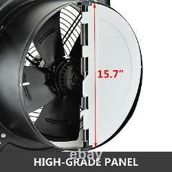 16 Industrial Ventilation Extractor Metal Exhaust Commercial Fan Speed 2260RPM