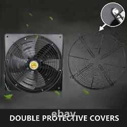 16in Outer Rotor Fan Axial Flow Fan Fume Extractor Ventilation Fan Full Pressure