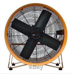 18 450mm Cyclone Dust Fume Extractor / Ventilation Fan + 5m Pvc Ducting