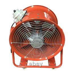 18 450mm Explosion Proof Dust Air Fume Ultility Extractor / Ventilation Fan Uk
