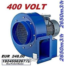 200M Industrial Centrifugal Blower Fan Fume, Smoke Extractor Ventilation