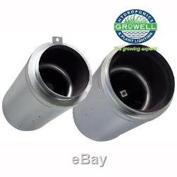 200mm (8) Isomax Acoustic Extractor / Intake / Inline / Ventilation Fan