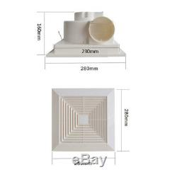 220V Ventilating Exhaust Extractor Fan for Bathroom Home Ceiling Wall Mount