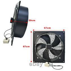24 600mm Industrial Ventilation Extractor Fan Air Blower Adjustable Fan Speed