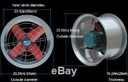 24 Fan Ventilator Explosion Proof Axial Fan Extractor Fan Cool Air 220V