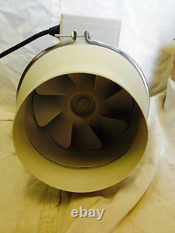 2 Speed Inline Ventilation Exhaust Fan 4 Vent Duct Extractor Low Noise