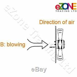300mm Industrial Ventilation Metal Fan Axial Commercial Air Extractor Exhaust