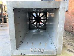 3 Phase Warehouse workshop Extractor fan in Ventilation shaft, 10 Feet long