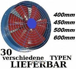 400mm Industrial Commercial, Extractor Ventilation Axial-Ventilator Wall-Fan