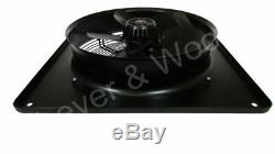 450mm/18in Extractor Industrial Ventilation Fan Plate Mount Axial 1ph 4p Blower