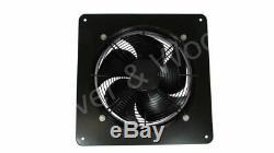 450mm/18in Extractor Ventilation Fan Plate Mount Axial 1ph 6p Sucker Inc UK PLUG