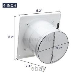4/6/8 110/220V Inline Duct Booster Fan Ventilation Extractor Exhaust Air Blower