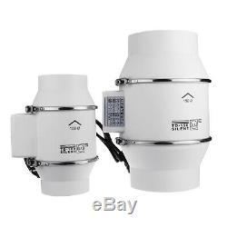 4/6/8 Inch Ventilation Inline Extractor Fan Window Wall Kitchen Toilet Exhaust B