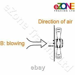 550mm Industrial Ventilation Metal Fan Axial Commercial Air Extractor Exhaust