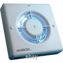 5x Manrose Standard Extractor Fan XF100SB