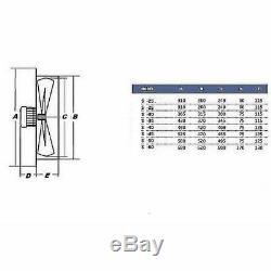 600mm Industrial Commercial Extractor Ventilation Axial Ventilator wall Fan