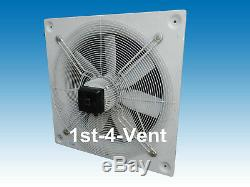 630mm PLATE AXIAL EXTRACTOR FAN, 1 PHASE 4 POLE Kitchen Canopy Ventilation