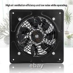 6 Inch 40W Wall Mounted Exhaust Fan Low Noise Extractor Ventilator Fan Home B