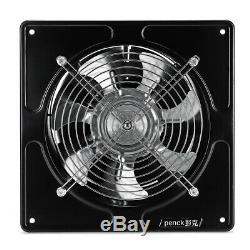 80W 8'' Silent Wall Extractor Ventilation Fan Kitchen Toilet Window Bath