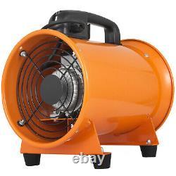 8'' 200mm Ventilation Fan + 5m PVC Ducting Industrial Dust Fume Extractor Fan
