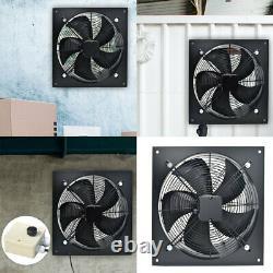 8-24Commercial Extractor Industrial Ventilation Axial Exhaust Flow Plate Fan UK