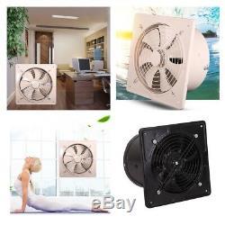 8'' Extractor Fan Air Ventilator System Flow Blower Bathroom Kitchen