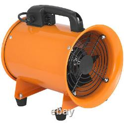 8 Industrial Extractor Portable Ventilator Air Blower Commercial extractor fan