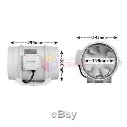 8 Kitchen Fume Exhaust Ventilation Fan Toilet Ventilators Air Extractor Fans