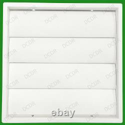8x 150mm 6 White Gravity Flap Wall Kitchen Extractor Fan Ventilation Grille